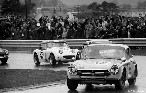 Historic Racing at Ingliston Circuit, Edinburgh