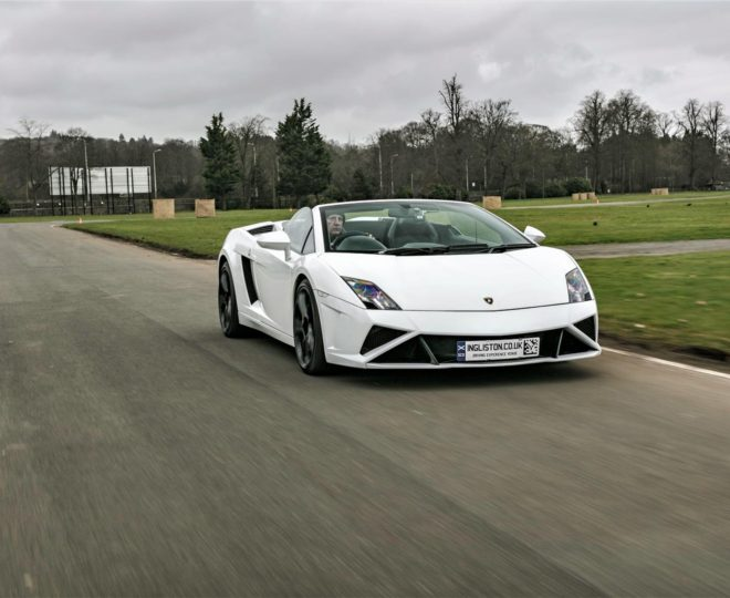 Drive one supercar at Ingliston Circuit